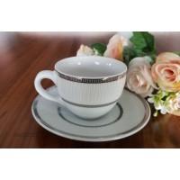 Serviciu de cafea espresso 6 persoane 110 ml - Platino - Nr catalog 3254 (Set Servicii Portelan de cafea)