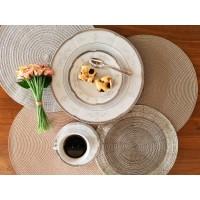 Serviciu pentru mic dejun 6 persoane - Bolero Festive - Nr catalog 2849 (Set Servicii Portelan de masa)