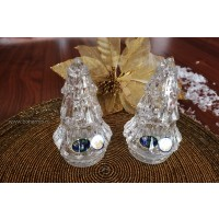 Set 2 solnite din cristal de Bohemia - Brad - Nr catalog 2705 (Solnite)