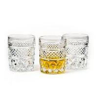 Pahare whisky din cristal de Bohemia - Madison - Nr. catalog 340 (Pahare)