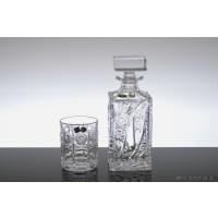 Set sticla si pahare de whisky - Thea - Nr catalog 1860 (Pahare cu sticla)