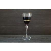 Pahare de vin alb/rosu 250 ml Bohemia cristalin - Elisabeth - Nr. catalog 3420