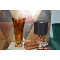 Vaza Bohemia cristalit 35 cm - Dynasty Caramel - Nr catalog 3188 (Vaze)