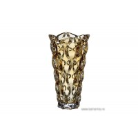 Vaza 30 cm Bohemia cristalit - Samba Amber - Nr catalog 2556 (Default)
