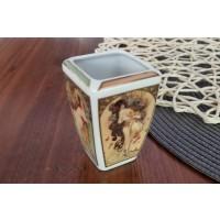 Vaza miniatura Alphonse Mucha - Anotimpurile - Nr catalog 2549 (Vaze)