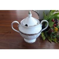 Zaharnita din portelan fin - GLORIA - Nr catalog 2028 (Set Servicii Portelan de cafea)