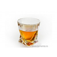 Pahare whisky Bohemia cristalit - Quadro - Nr catalog 1322