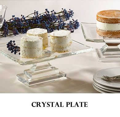 Crystal Plate Bohemia