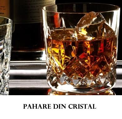 Pahare din cristal Bohemia