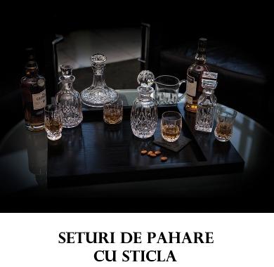 Seturi de Pahare cu Sticla Bohemia